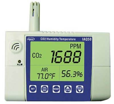 Indoor Air Quality Monitor,Wall Mounted SUPCO IAQ50