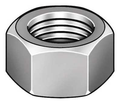 """3/4""""-10 Plain Finish 316 Stainless Steel Heavy Hex Nuts, 20 pk."""