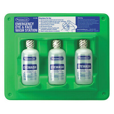 Eye Wash Station,8 oz.,11inHx12inWx2inD PHYSICIANSCARE 24-308