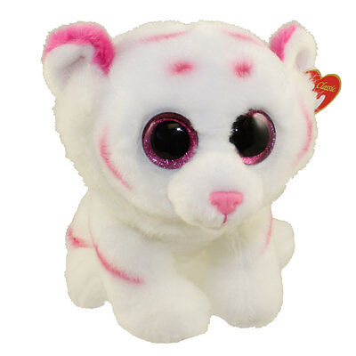 TY Classic Plush - TABOR the Tiger (9.5 inch) - MWMTs Stuffed Animal Toy