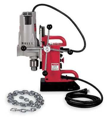 Magnetic Drill Press,350RPM,3/4 In Steel MILWAUKEE 4210-1