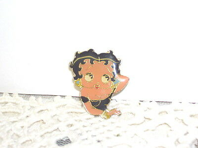Vintage Betty Boop Tac Pin R.o.c.
