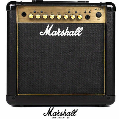 Marshall MG15GFX MG 15W Guitar Combo Amplifier with Multi Effects 1 x 8 inch spe