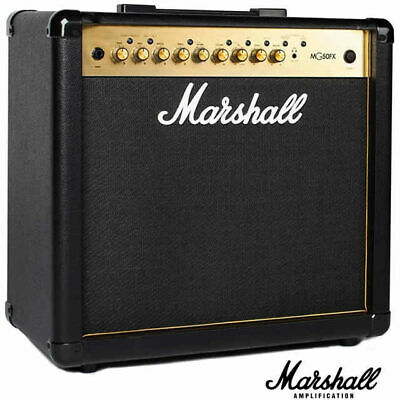 Marshall MG50GFX MG 50W Gold Guitar Combo Amplifier with Multi Effects 1 x 12 in