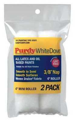PURDY 140606042 Paint Roller Cover, 3/8 in. Nap, PK2