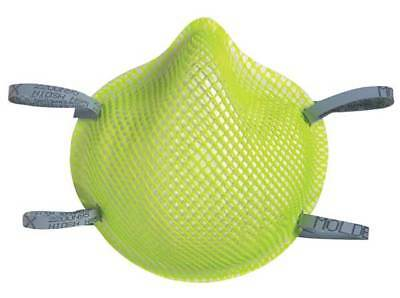 MOLDEX 2200N95HV N95 Disposable Respirator, M/L, Lime, PK20