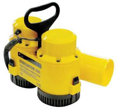 """RULE EV8000-100 3"""" Plug-In Utility Pump 12VDC No Switch Included"""