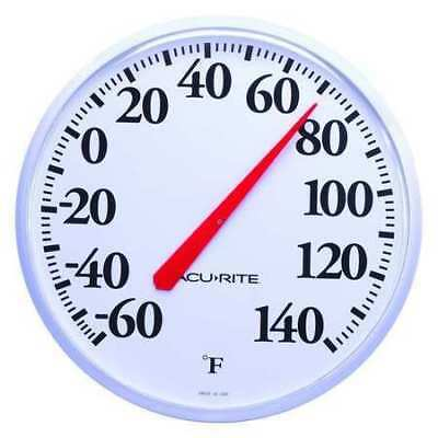 3LYK1 Analog Thermometer, -60 to 140 Degree F