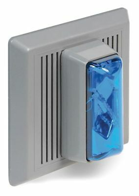 EDWARDS SIGNALING 869STRB-AQ Horn Strobe,Blue,24VAC/DC,Indoor Flush