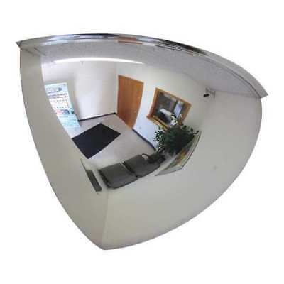Quarter Dome Mirror,48 in.,Acrylic ZORO SELECT 13W067