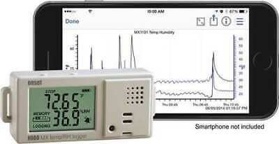 HOBO MX1101 Data Logger,Temp/Humidity,Bluetooth