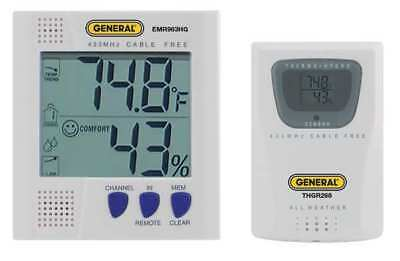 Wireless Multizone Thermometer, General, EMR963HG