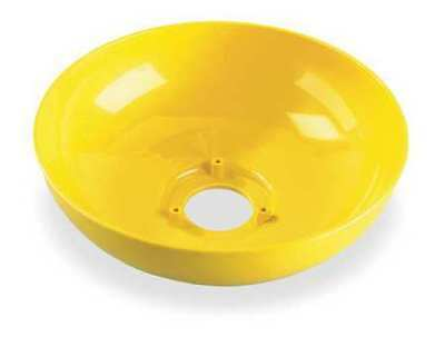 Plastic Eyewash Bowl, 10 In Dia