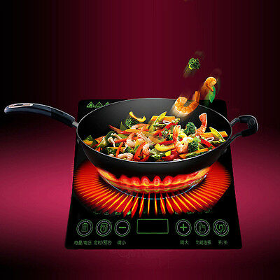 2000W Portable Ultra-thin High-power Cooktop Waterproof Smart  Induction Cookers