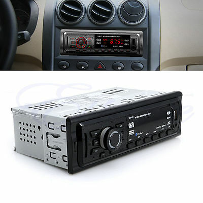 Car Bluetooth Stereo Audio In-Dash FM Aux Input Receiver USB SD MP3 Radio Player