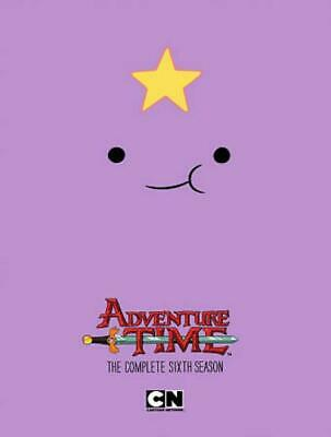 Adventure Time: The Complete Sixth Season New Dvd