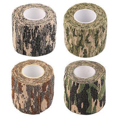 Outdoor 4.5M Waterproof Camouflage Sport Hiking Camping Hunting Stealth Tape
