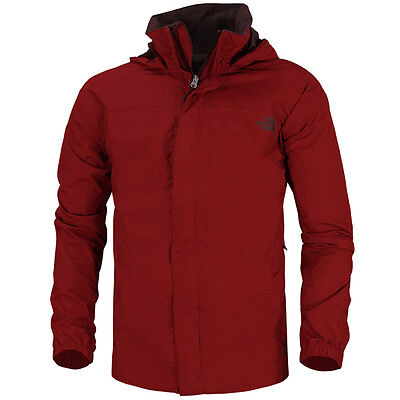 The North Face Men Resolve Herren Jacke red T0AR9T619 Outdoor Regen Windjacke