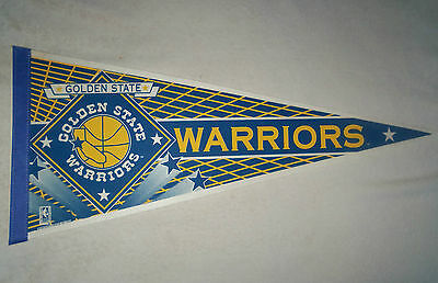 NBA : Vintage Golden State Warriors Large Pennant - New