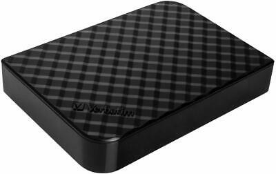 Verbatim 4TB Store 'n' Save USB 3.0 Desktop Hard Drive - Diamond Black