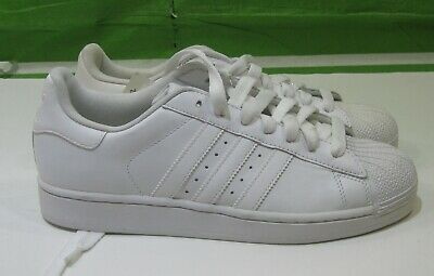2010 ADIDAS SUPERSTAR II 2 Low ALL WHITE CASUAL SHOES G17071