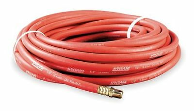 "SPEEDAIRE 5Z333 3/4"" x 50 ft Nitrile Coupled Multipurpose Air Hose 250 psi RD"