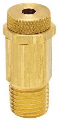 CONTROL DEVICES PR38-000 Pressure Relief Valve, 3/8in., 0 to 20 psi