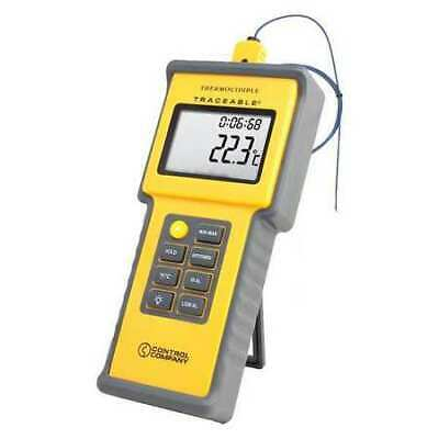 Thermocouple Thermometer,1 Input,Type K TRACEABLE 4015