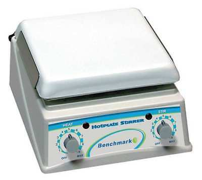 BENCHMARK SCIENTIFIC H4000-HS Magnetic Stirring Hot Plate,7.5 x 7.5In.