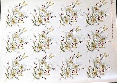 Ceramic Decals 12 Sonnet 747410 Matthey On A Sheet W/d 169509 Right Price