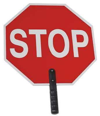 CORTINA 03-854 Paddle Sign, Stop/Stop, 18 In. H