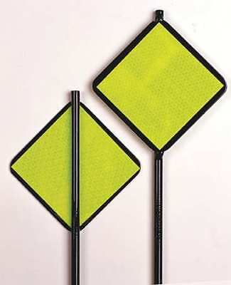 ZORO SELECT 708 Reflective Driveway Marker,Lime Grn,48 H