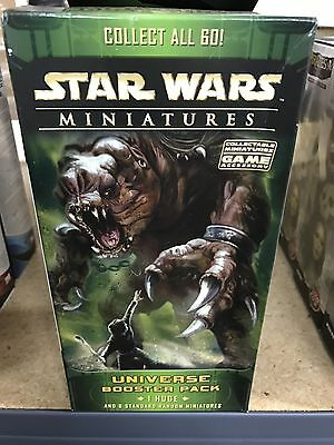 STAR WARS MINIATURES GAME : UNIVERSE Booster Pack NEW SEALED