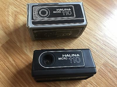 Halina Micro 110 miniature camera Vintage Photography spy