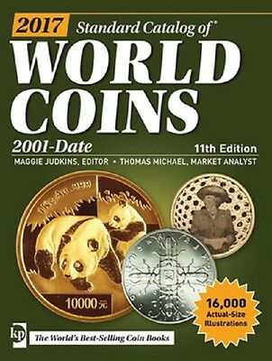 2017 Krause Cd Standard Catalog Of World Coins 2001-Date 11Th Edition