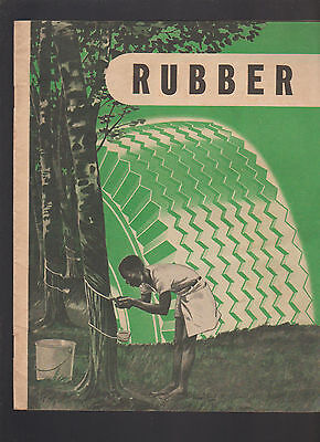 Firestone Tire Booklet 1946 Rubber 32 Pages
