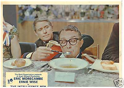The Intelligence Men 1965 Morecambe & Wise Lobby Card