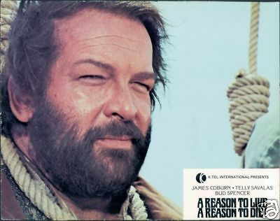 Bud Spencer A Reason To Live A Reason To Die Lobby Card