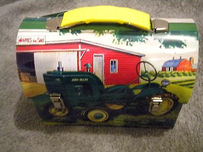 John Deere Tin Lunch Box -
