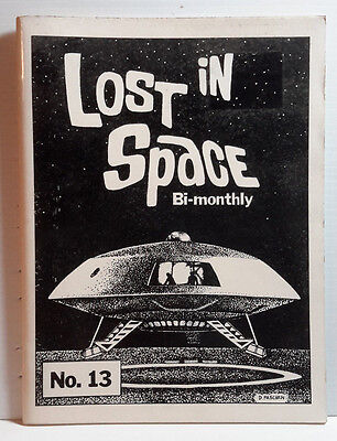 1987 Lost in Space Bi-Monthl #13- Fanzine- 80 Pages-FREE S&H