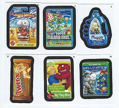2014 Topps WACKY PACKAGES Series 1 Set  (55 Cards)