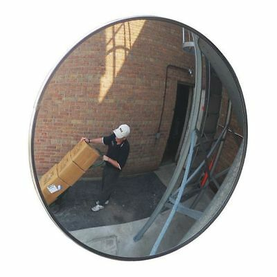 Outdoor Convex Mirror,18 Dia,Acrylic ZORO SELECT 3YRR8