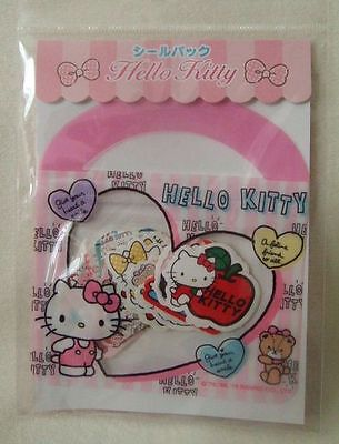 Sanrio Hello Kitty pink sticker pack 40pcs NEW