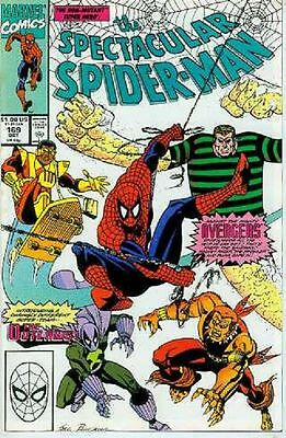 Peter Parker Spectacular Spiderman # 169 (Avengers x-over) (USA, 1990)