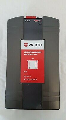 WURTH TIME SERT KIT M6 x 1   THREAD REPAIR SYSTEM inc Tap Drill Tool Inserts