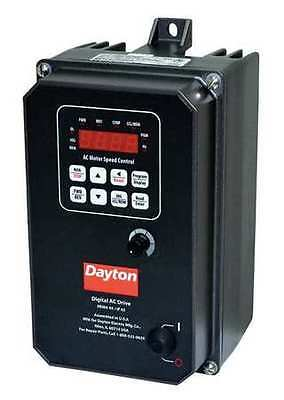 DAYTON 13E650 Variable Frequency Drive, 1 HP, 208-230V