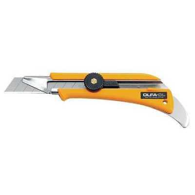Extended Depth Utility Knife,7 In,Yellow OLFA OL
