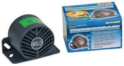 Back Up Alarm,112dB,Black,3-1/2 In. H WOLO BA-550