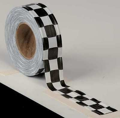PRESCO PRODUCTS CO CKWBK-373 Flagging Tape,White/Blk,300ft x 1-3/8In
