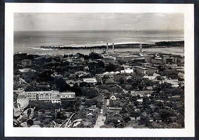 C. 1937 Panorama of the City as seen from punchbowl, Honolulu Hawaii